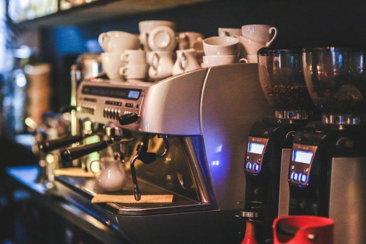 Machine à café.