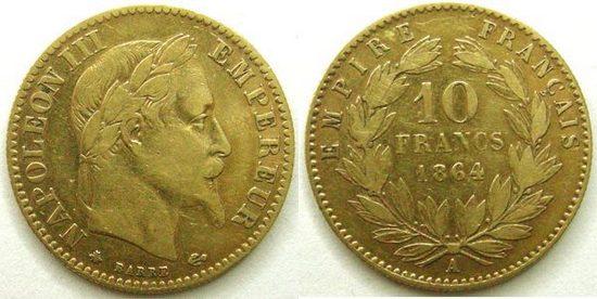 10 francs or napoleon