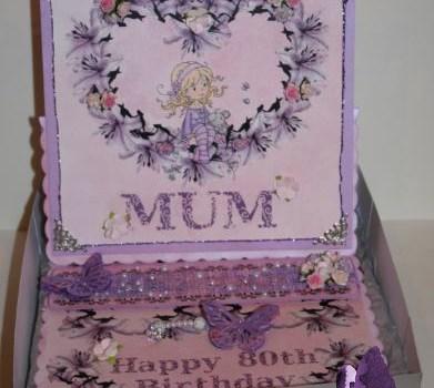A special sparkly birthday box!