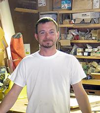 photo of Wayne, carpenter at Acheson Buiilders