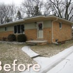 BEFORE: Exterior of House