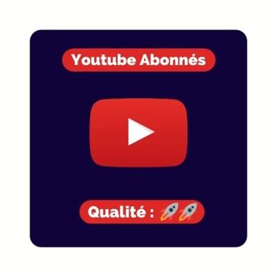 Acheter des abonnés youtube pas cher
