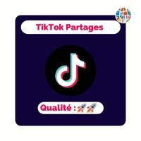 Acheter des partages sur tiktok