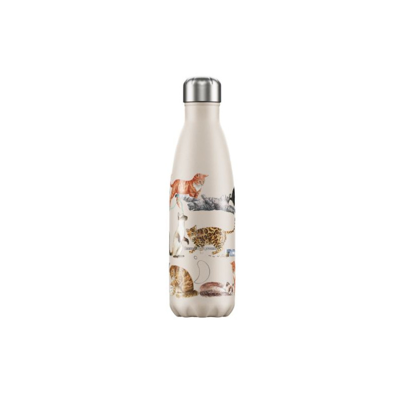 bouteille gourde isotherme chilly s chat emma bridgewater 500 ml
