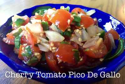 cherry tomato pico de gallo