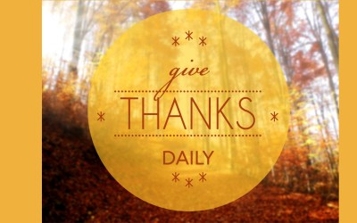 Did You Know there are Benefits to Being Thankful?