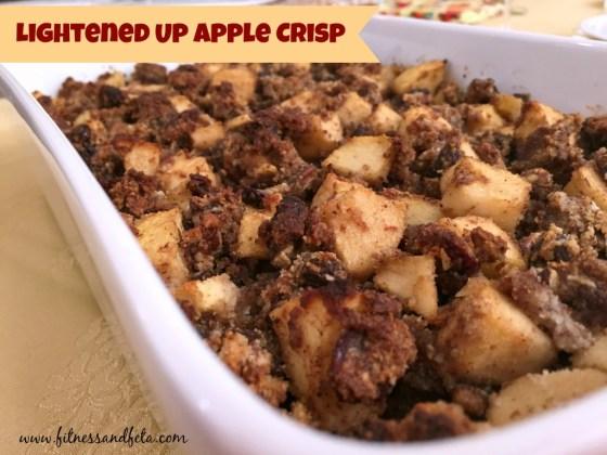 Lightened Up Apple Crisp