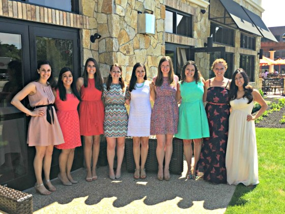 My Bridal Shower: Bridesmaids