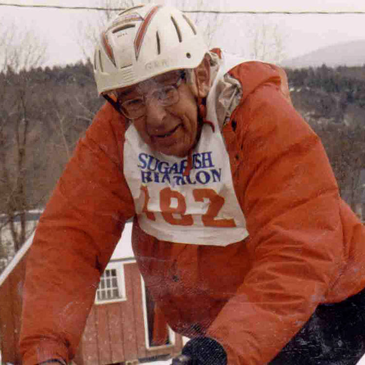 Allen Clark Biking