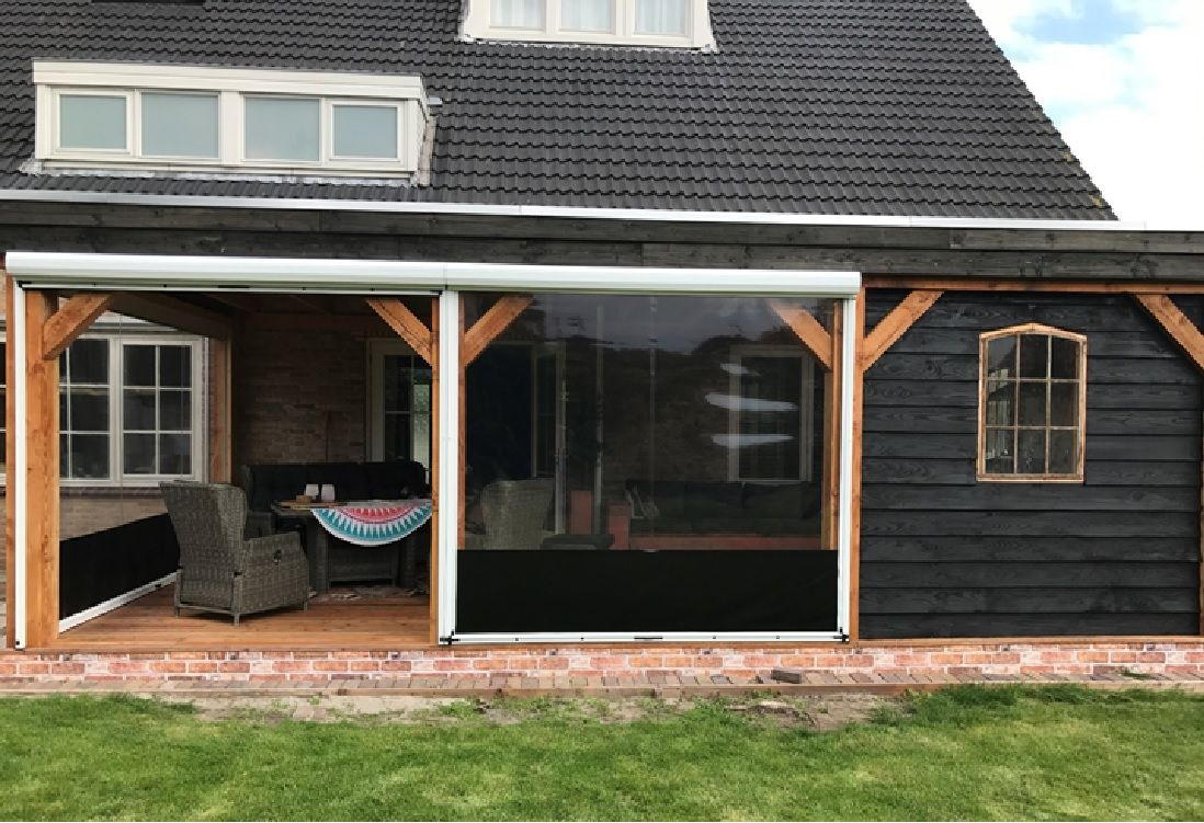 outdoor blinds and enclosures
