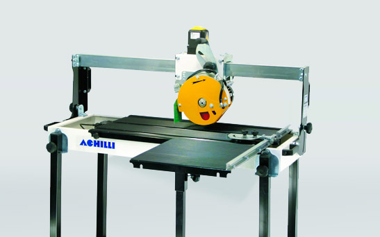 portable bench saw for tiles and
