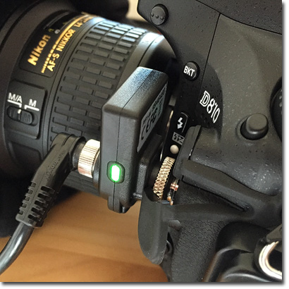 di-GPS Empfänger Nikon D810