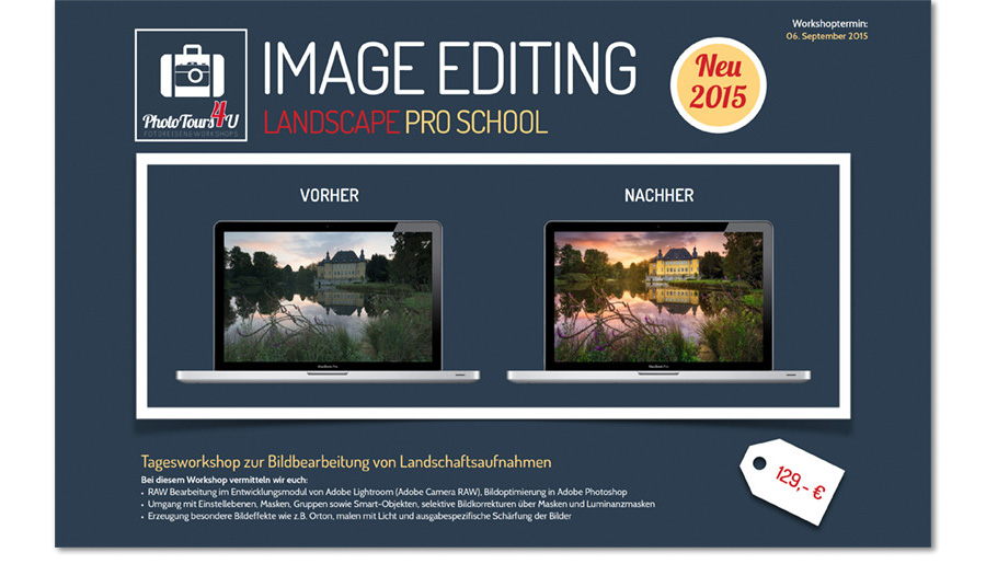 Image Editing Flyer