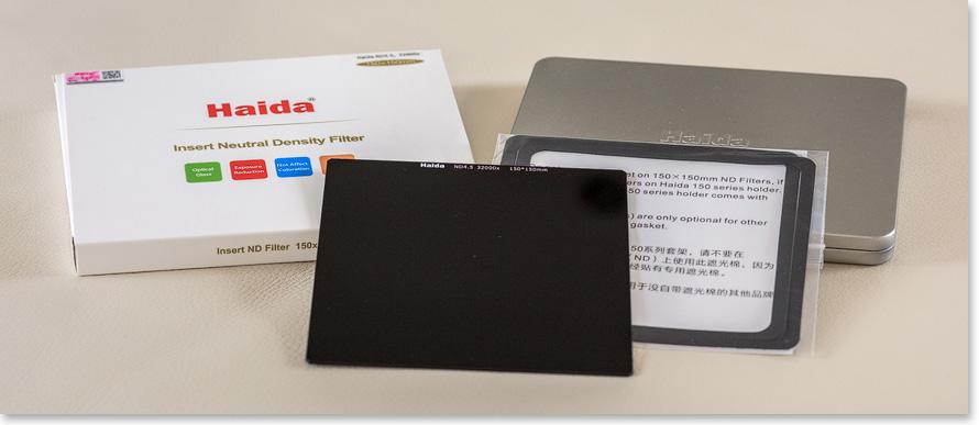 Haida ND 4.5 Filter 150x150mm
