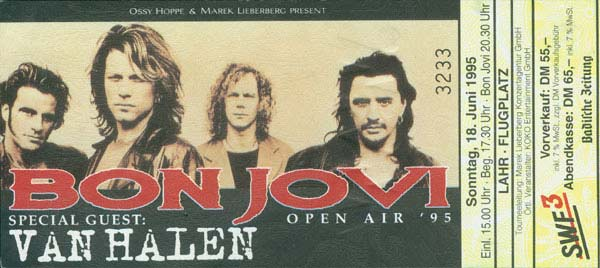 Bon Jovi Van Halen