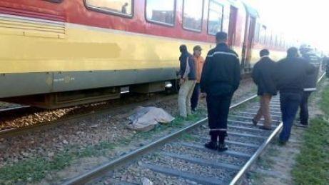 مؤلم…أم لطفلين تنتحر على سكة القطار بتمارة (صورة)