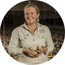 Susan Shay chook farm insurance