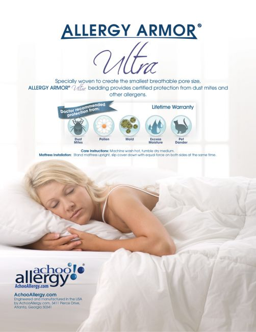 allergy armor ultra travel pillow covers on sale