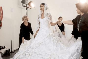 camila coelho, vestido de noiva, paris, fashion week, ralph & russo, fotos, digital influencer