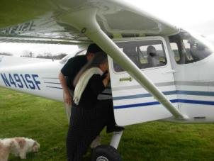 pamela's 50th birthday plane ride 2