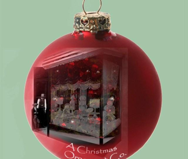 American Christmas Ornament