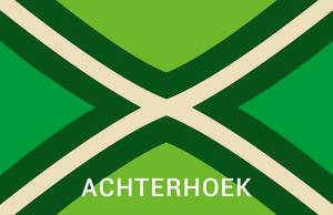 Achterhoekse Vlag Sticker achterhoek
