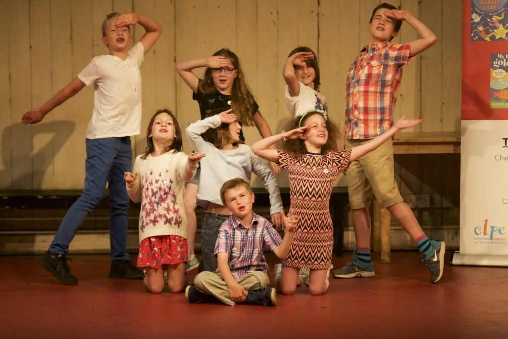 Shadowing School performance on National Theatre stage