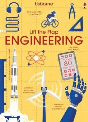 Lift The Flap Engineering by Rose Hall & Alex Frith ill. Lee Cosgrove