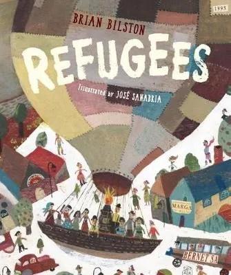 Refugees by Brian Bilston ill Jose Sanabria