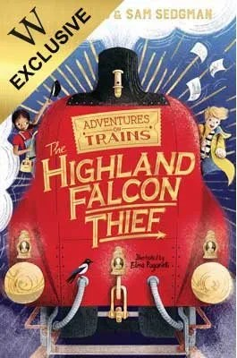 The Highland Falcon Thief by M. G. Leonard and Sam Sedgman ill Elisa Paganelli