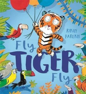 Fly Tiger Fly by Rikin Parekh