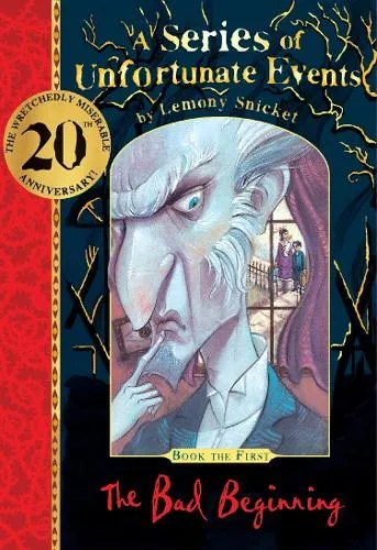 The Bad Beginning 20th anniversary gift edition – A Series of Unfortunate Events by Lemony Snicket ill. Brett Helquist