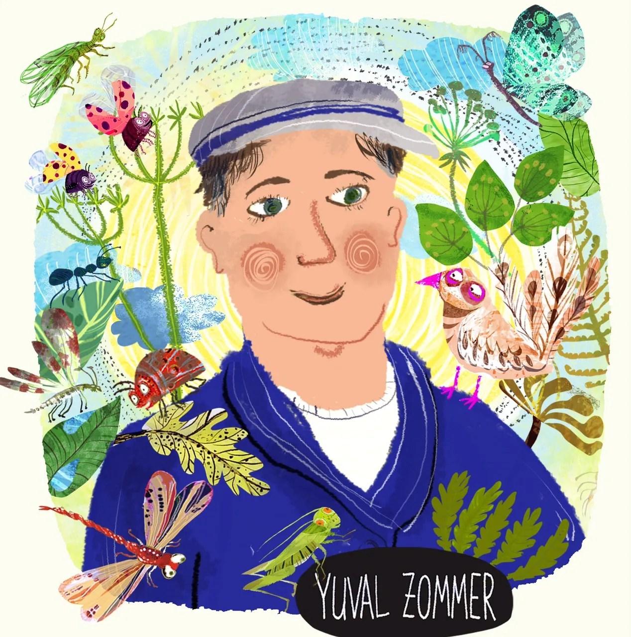 Meet An Illustrator 23 – Yuval Zommer