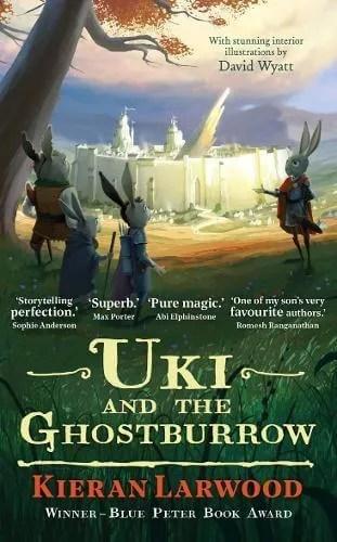 Uki And The Ghostburrow by Kieran Lawrwood ill. David Wyatt