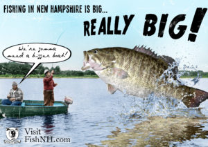 vintage images of big fish, small boat