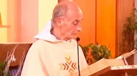 Pe. Jacques Hamel. Captura Youtube
