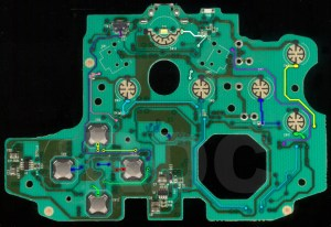 XB1 Controller PCB Scans, Traces and Info  1537