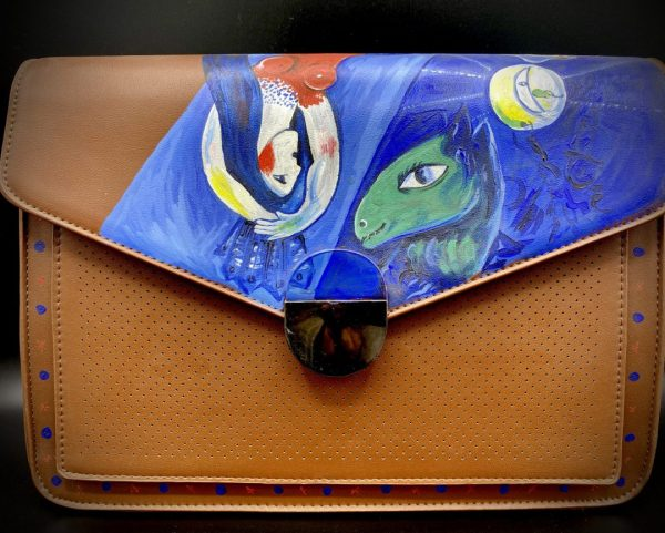 Marc Chagall hand-painted bag