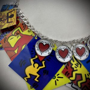 Keith Haring Necklace