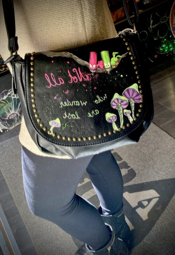 Alice In Wonderland fluorescent bag