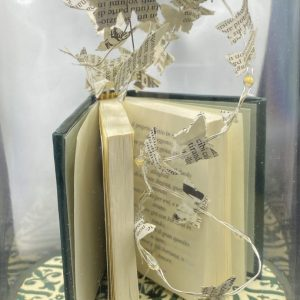 Miniature Vintage book with lights