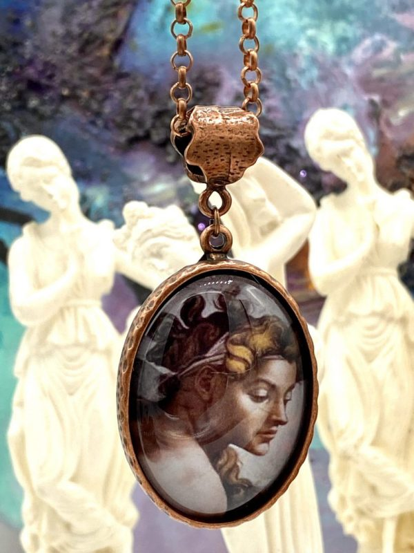 Botticelli earrings