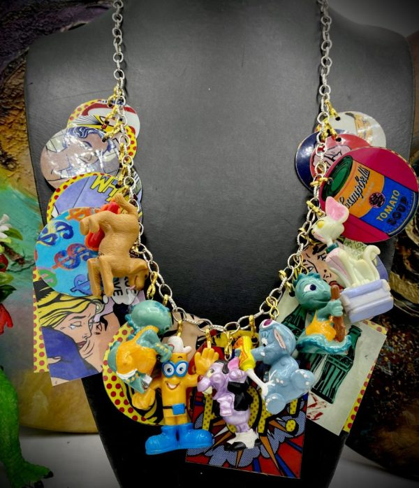 Vintage Kinder Toys Necklace