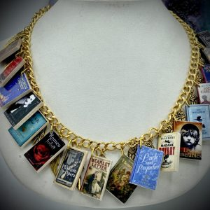 Miniature Books Necklace