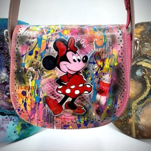 Minnie hand painted bag