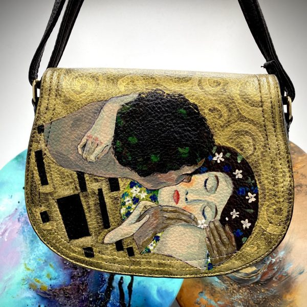 "Gustav Klimt "" The kiss"" bag"