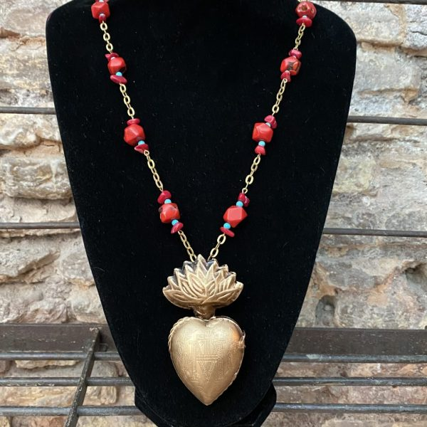 Necklace Milagro Heart Pendant