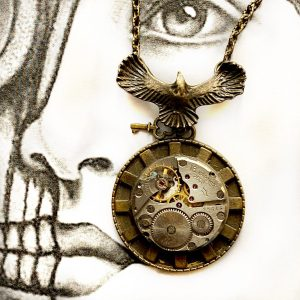 Eagle Steampunk Necklace