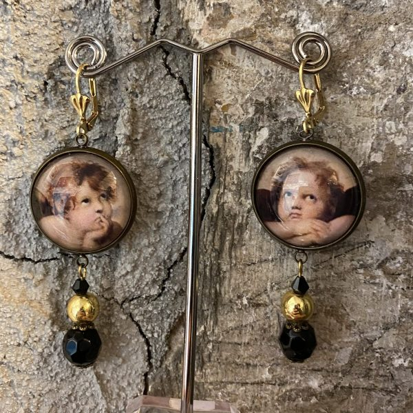 Raffaello Sanzio Handmade earrings