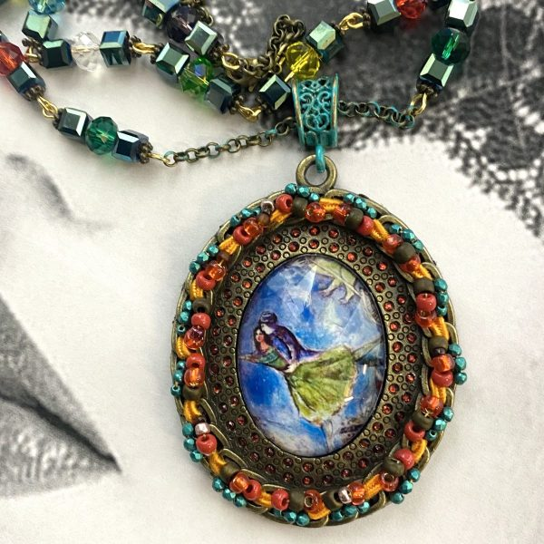 Chagall Lovers Necklace